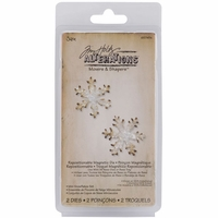 Sizzix Movers & Shapers Magnetic Dies by Tim Holtz® - Mini Snowflakes