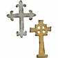 Movers & Shapers Magnetic Dies by Tim Holtz - Mini Ornate Crosses
