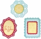 Sizzix Sizzlits Die Set - Decorative Frames