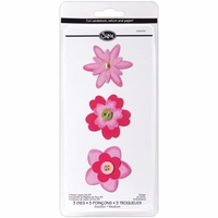 Sizzix Sizzlits Die Set - Flower Layers #3