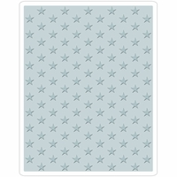 Sizzix Texture Fades By Tim Holtz A2 Embossing Folder - Tiny Stars