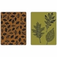 Sizzix Texture Fades Embossing Folders By Tim Holtz - Leaves