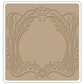 "Sizzix Textured Impressions 6""x6"" Embossing Folder - Arching Trees Frame By Vintaj"