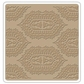 "Sizzix Textured Impressions 6""x6"" Embossing Folder - Indian Print By Vintaj"