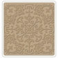 "Sizzix Textured Impressions 6""x6"" Embossing Folder - Leaf Rosette By Vintaj"