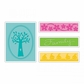 Sizzix Textured Impressions A2 Embossing Folders - Family Tree