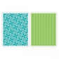 Sizzix Textured Impressions A2 Embossing Folders - Pinwheels & Stripes