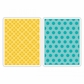 Sizzix Textured Impressions A2 Embossing Folders - Polka Dots & Starflowers