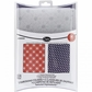 Tim Holtz Texture Fades A2 Embossing Folders - Chevrons & Lattice