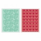Sizzix Textured Impressions A6 Embossing Folders - Love #4