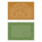 Sizzix Textured Impressions A6 Embossing Folders - Rooster Frame & Lemon Label