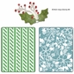 Sizzix Textured Impressions - BG Nordic Holiday Alpine Pattern Flowers