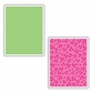 Sizzix Textured Impressions Embossing Folders - Dots And Flowers