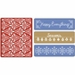Sizzix Textured Impressions Embossing Folders - Holiday Damask