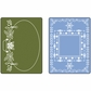 Sizzix Textured Impressions Embossing Folders - Holiday Frames