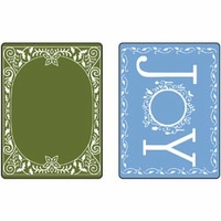 Sizzix Textured Impressions Embossing Folders - Holiday Joy