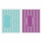 Sizzix Textured Impressions Embossing Folders - Sassy & Circle Labels