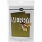 Sizzix Thinlits Die Card w/Merry Cut-Out