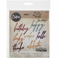 Sizzix Thinlits Dies By Tim Holtz - Handwritten Celebrate