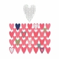 Sizzix Thinlits Dies - Heart Card Front/Layering Shapes
