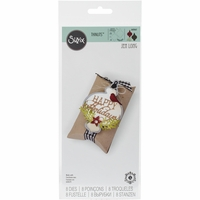 Sizzix Thinlits Dies - Ornament & Happy Holidays
