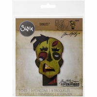 Sizzix Thinlits Dies by Tim Holtz - Zombie