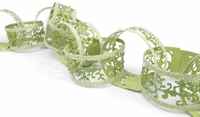 Sizzlits Decorative Strip Die - Christmas Paper Chain w/Holly Flourish
