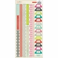 Sleigh Ride Cardstock Stickers - Borders