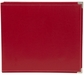 "Sn@p! Leather Binder 12""x12"" - Red"