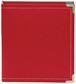 "Sn@p! Leather Binder 6""x8"" - Red"