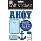 Soft Spoken Themed Embellishments - Ahoy