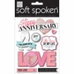Soft Spoken Themed Embellishments - Anniversary Heart