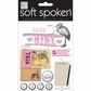 Soft Spoken Themed Embellishments - Baby Girl Stork