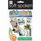 Soft Spoken Themed Embellishments - California Surfboard