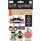 Soft Spoken Themed Embellishments - Ellen - My Little Monster