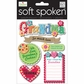 Soft Spoken Themed Embellishments - Grandma