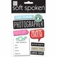 Soft Spoken Themed Embellishments - I'm The Photographer