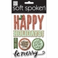 Soft Spoken Themed Embellishments - Jingle All The Way