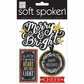 Soft Spoken Themed Embellishments - Let Your Heart Be Light
