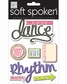Soft Spoken Themed Embellishments - Love Dance