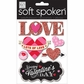 Soft Spoken Themed Embellishments - Love Lots Of Love