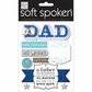 Soft Spoken Themed Embellishments - No.1 Dad