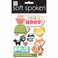 Soft Spoken Themed Embellishments - You're A Hoot