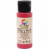 Soy Paint - Watermelon Red