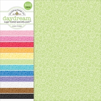 """Specialty Cardstock Value Pack 12""""X12""""-Sugar Coated Daydream"""