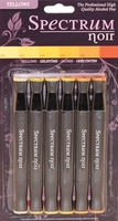 Spectrum Noir Alcohol Marker Set - Yellows*