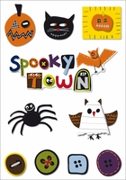 Imaginisce Spooky Town Collection