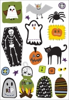 Spooky Town Rub-Ons - Boo Hooligans Icons