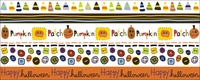 Spooky Town Rub-Ons - Pumpkin Parade Borders
