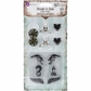 Stamp-N-Add Stamp & Metal Embellishment Set - Angel Wings
